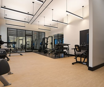 Fitness Weight Room, Noonan Towers