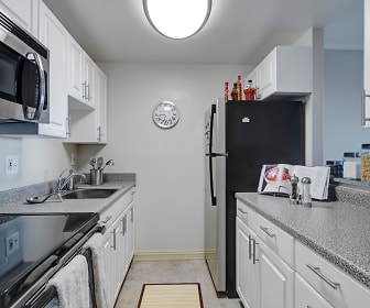 Kitchen, Amy Lowell Apartments