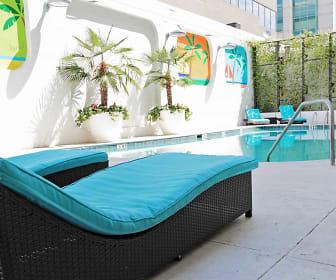 Pool, The Palms On Main