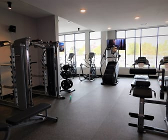 Fitness Weight Room, The Mill at Ironworks Plaza