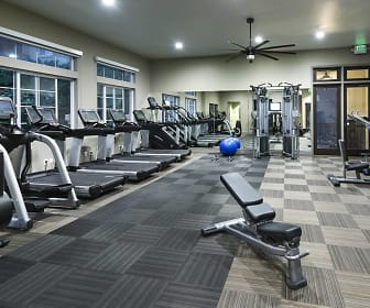 Fitness Weight Room, River Terrace