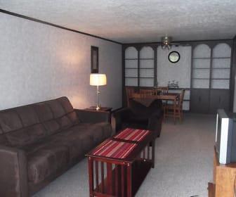 Living Room, Springwood Apartments