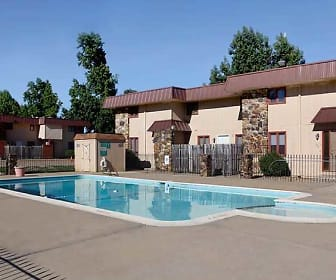 Pool, Dryden Place Townhomes