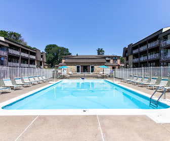 Pool, The Four Seasons Apartments