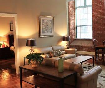 Living Room, Lofts at Pocasset Mill