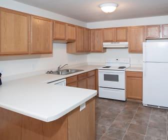 Kitchen, Rum River Apartments