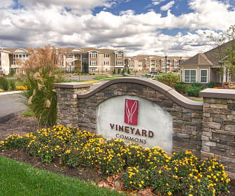 Community Signage, Vineyard Commons 55+ Senior Community