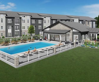 Clubhouse Amenity Building Featuring Pool, fitness, clubroom, grilling area and fire pit!, The Glade Residences