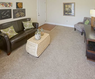 Living Room, Indiana Flats & Townhomes