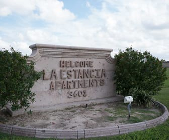 Community Signage, La Estancia Apartments