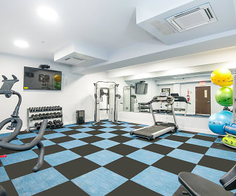Fitness Weight Room, 412 Bronx Apartments