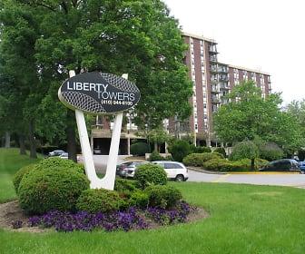 Community Signage, Liberty Towers