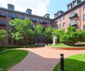 James and Harrison Court Apartments, Bay Village, Boston, MA