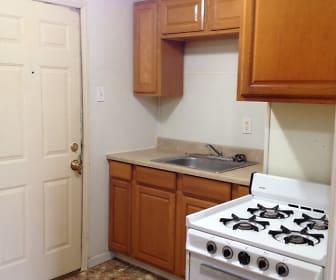 Kitchen, 116 1/2 W. 3rd St, Apt 208
