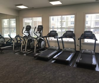 Fitness Weight Room, Sapphire at Centerpointe