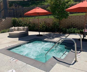 view of swimming pool, Meridian at Phillips Ranch