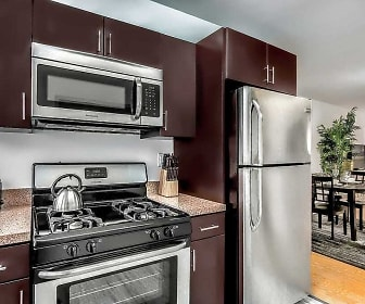 Kitchen, Cherokee Apartments At Chestnut Hill