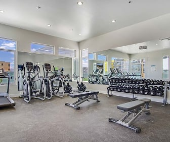 Fitness Weight Room, Parq Crossing