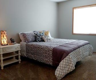 Bedroom, Devon Apartments