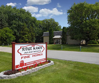 Community Signage, Ridge Manor Apartments