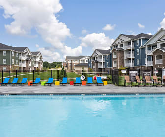 Pool, Adams Village Apartments & Townhomes