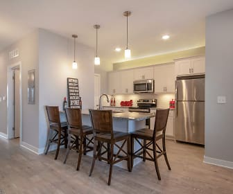 Kitchen, Townhomes at Two Rivers