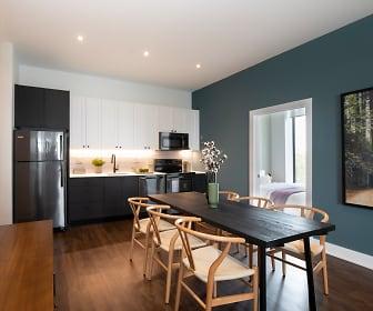Kitchen, The Irvine Apartments