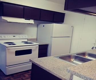 Kitchen, Santa Fe Trails Apartments