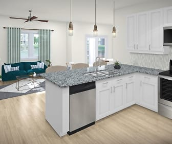 Kitchen, The Crest at Bonita Springs