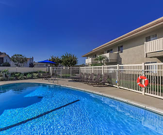 Pool, The Monrovia Apartment Homes