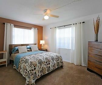 Bedroom, La Aloma Apartments