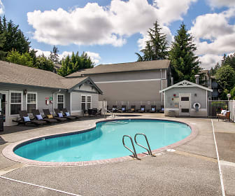 Pool, Atlas Apartments