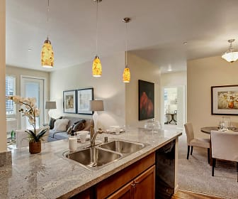 Kitchen, Solara Apartments