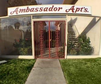 Community Signage, Ambassador Apartments