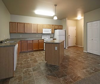 Kitchen, Timber Cove Apartments