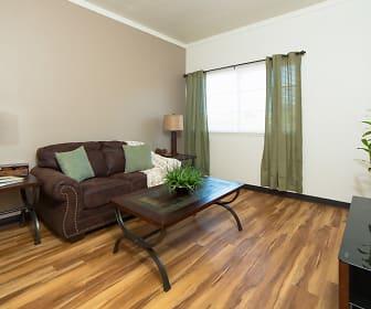 Living Room, Wakea Garden Apartments