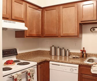 Kitchen, Peachtree Apartments