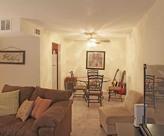 Living Room, Boulder Creek Of Vantage Pointe