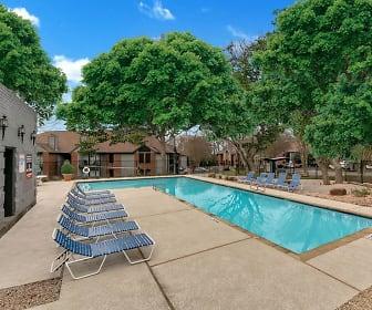Pool, Pecan Ridge Apartments