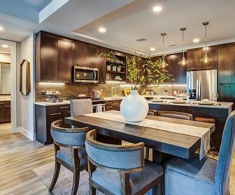 Kitchen, Gables Residences