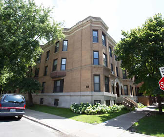5401-5403 S. Woodlawn Avenue, Hyde Park Kenwood Historic District, Chicago, IL