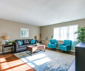 Living Room, Georgetown Park Apartments