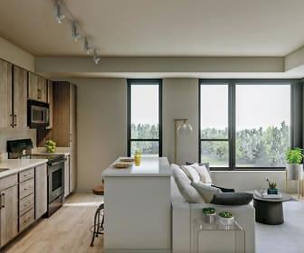 Kitchen, Brook Avenue Co-Op