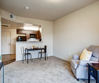 Living Room, Oakridge Crossing - Senior Living 62+