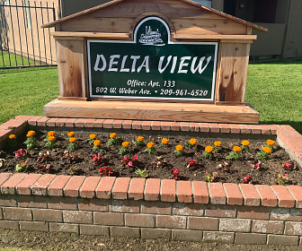 Community Signage, Delta View Apartments