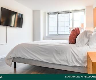 Bedroom, 229 Chrystie Street THE CHRYSTIE 638