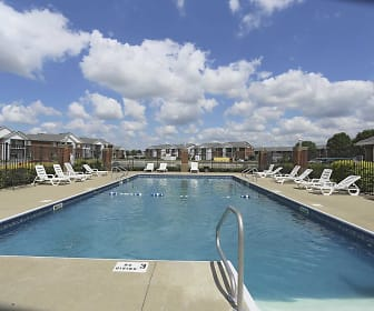 Pool, Cross Lake Apartments