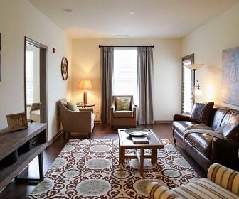 Living Room, LaCabreah Apartments