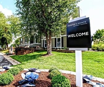 Community Signage, Hunter's Pointe Apartments &Townhomes