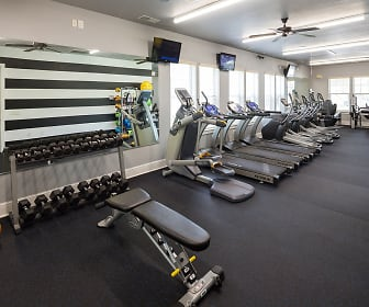 Fitness Weight Room, Spanish Fort Town Center Apartments